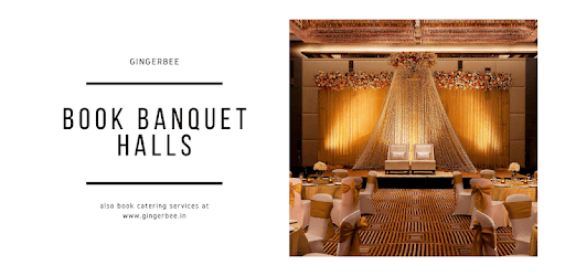 GingerBee - Book Banquet Halls & Catering Service apk