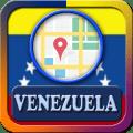 Venezuela Maps And Direction Icon