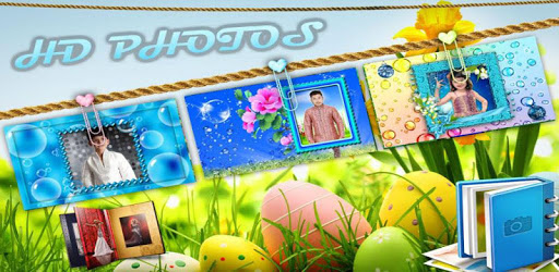 Bubbles Photo Frames HD apk