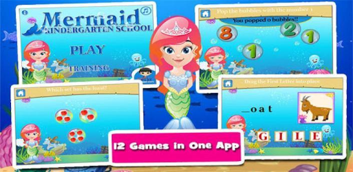 Mermaid Princess Pre K Games apk