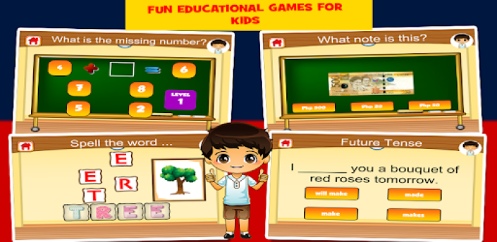 Pinoy Second Grade Games apk