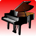 Learn to play the piano Icon