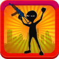 Stickman Shooting Zombie Icon