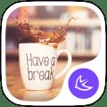 Coffee time food theme Icon
