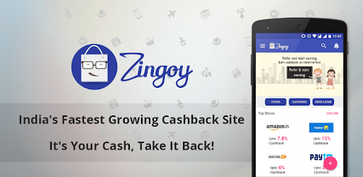 Zingoy - Gift Cards, Cashback Offers & Coupons apk