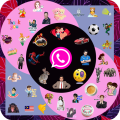 All Stickers for WhatsApp 2000+ Icon