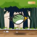 Green Bird Icon