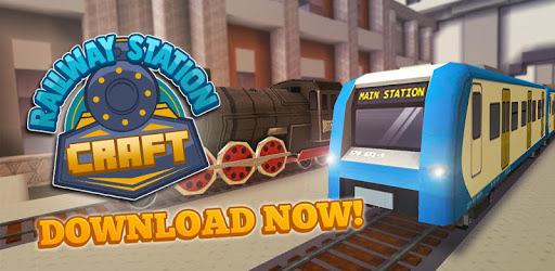 Railway Station Craft: Train Ride & City Games apk
