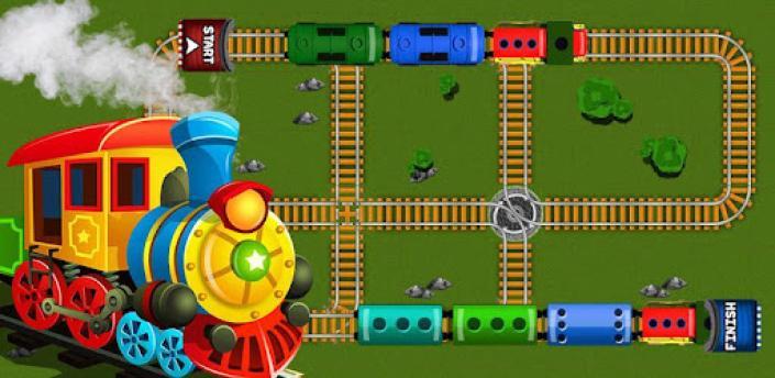 Train track puzzle : Rail traffic control apk