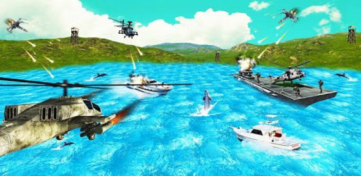 Helicopter Gunship War - 3D Air Battle apk