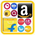 All in one Online Shopping Browser App 2020 Icon