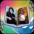 Book Dual Photo Frames Icon