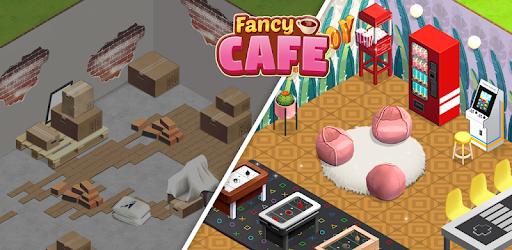 Fancy Cafe - Restaurant & Decorating Games apk