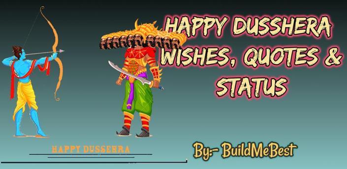 Happy Dusshera Wishes, Quotes & Festival Status apk