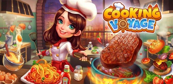 Cooking Voyage - Crazy Chef's Restaurant Dash Game apk