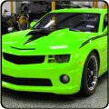 camaro car drifting games : super racing speed 3D Icon