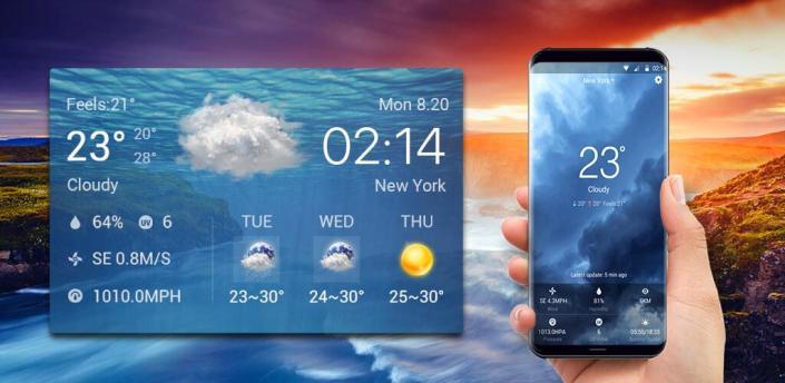 Local Weather Widget&alerts apk