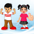 Help for Kids Health and Diet Icon