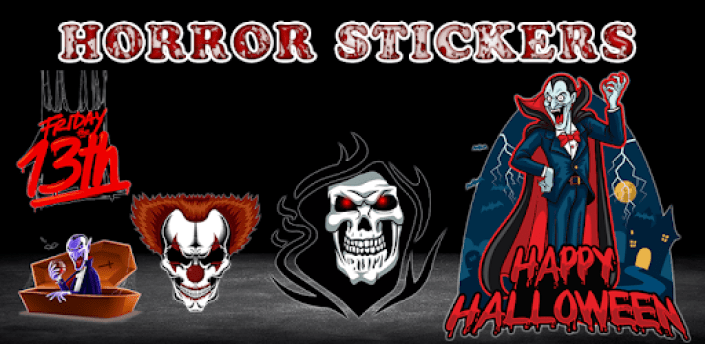 💯Scary and terror stickers WAStickerapps💯 apk