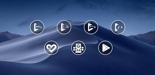 Monoic Icon Pack: White, Monotone, Minimalistic apk