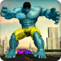 Monster Superhero City Battle Icon