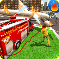 Emergency Firefighting Airplane Rescue 2019 Icon