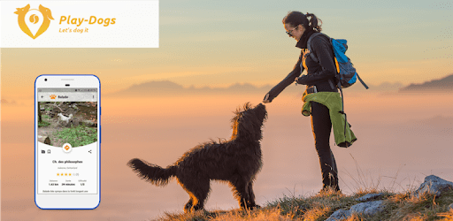 Play-Dogs Discover new walks with your dog apk