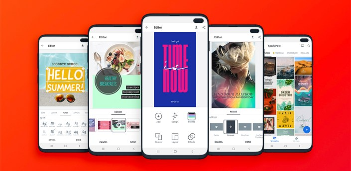 Spark Post: Graphic Design apk