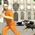 Police Dog Crime Chase Icon