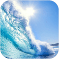 Animated Waves Live Wallpaper Icon