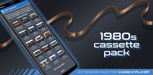 Casse-o-player 1980s Cassette Pack apk