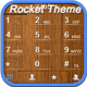RocketDial Wood Theme Icon