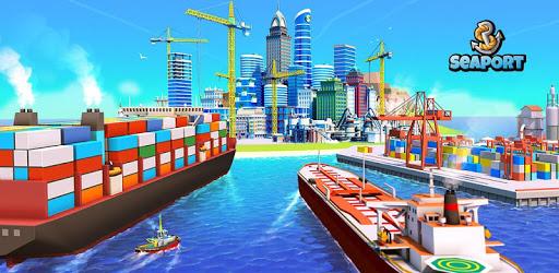 Sea Port: Build Town & Ship Cargo in Strategy Sim apk