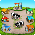Farm Frenzy Free: Time management farming games 🌻 Icon