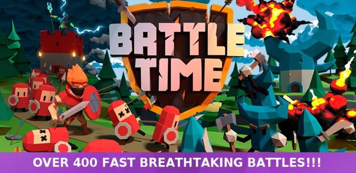 BattleTime - Real Time Strategy Offline Game apk