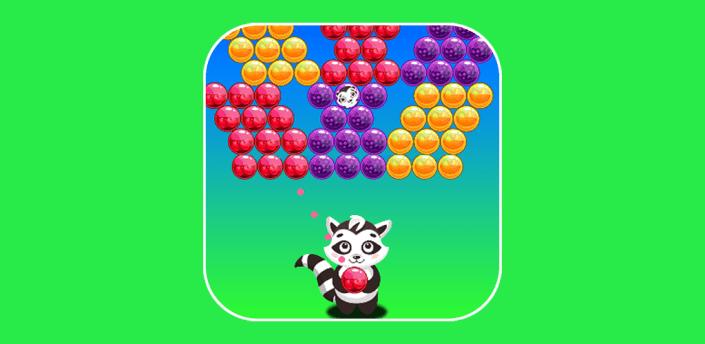 Bubble Balls Killer – Racoon Baby Rescue Puzzle apk
