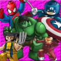 The Super Hero Puzzle Icon
