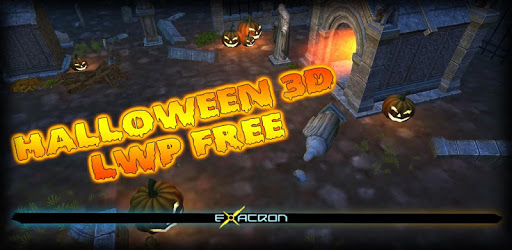 Halloween 3D LWP Free apk