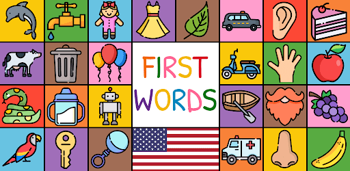 First Words - US (baby/toddler/kids flashcards) apk