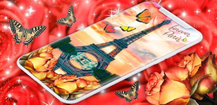 Paris Love Live Wallpapers ❤️French Love Wallpaper apk