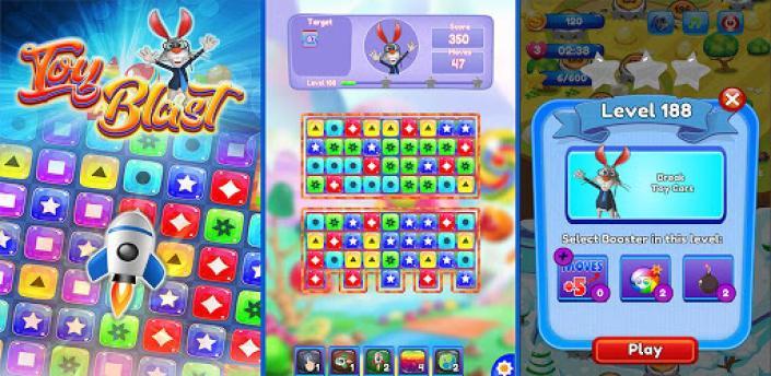 Toy Blast - Toy Cubes Pop apk