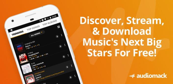 Audiomack: Download New Music Offline Free apk