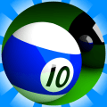 8 Balls Of Fire : Free Online Pool Game Play Icon
