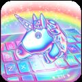 Laser Unicorn Keyboard Theme Icon
