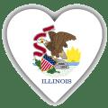 Illinois Radio Stations  📻 🇺🇸 Icon