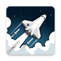 2 Minutes in Space - Missiles Vs. Asteroids Icon