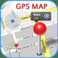 GPS Map Free Icon