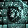 Luminous Lion Keyboard Theme Icon