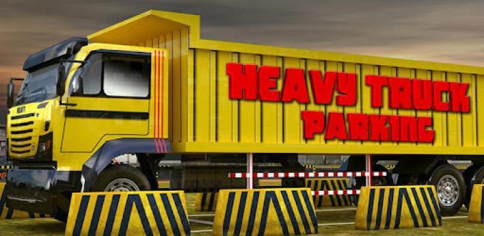 Heavy dump truck 3D parking apk