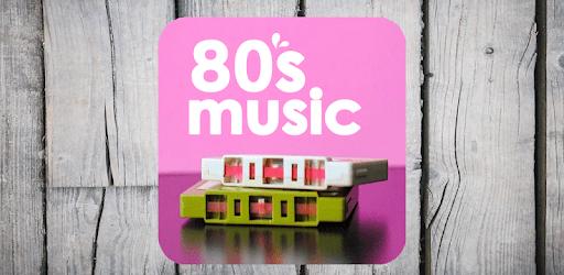 The best music of the eighties apk